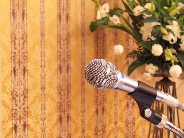 祝賀会司会者の挨拶やスピーチに使える言葉の例文や手紙・メールに使える文例