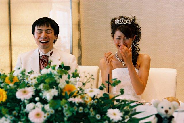 結婚式締め友人の挨拶やスピーチに使える言葉の例文や手紙・メールに使える文例