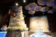 Wedding cake reception party
